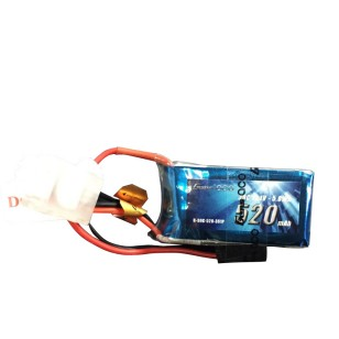 Gens Ace 520mAh 11.1V 30C 3S1P Lipo Battery Pack with JST-SYP plug