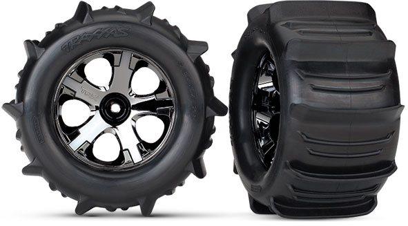 Traxxas Tires & Wheels, Assembled
