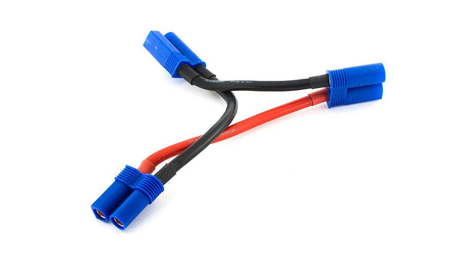 E-Flite EC5 Battery Series Harness, 10Awg