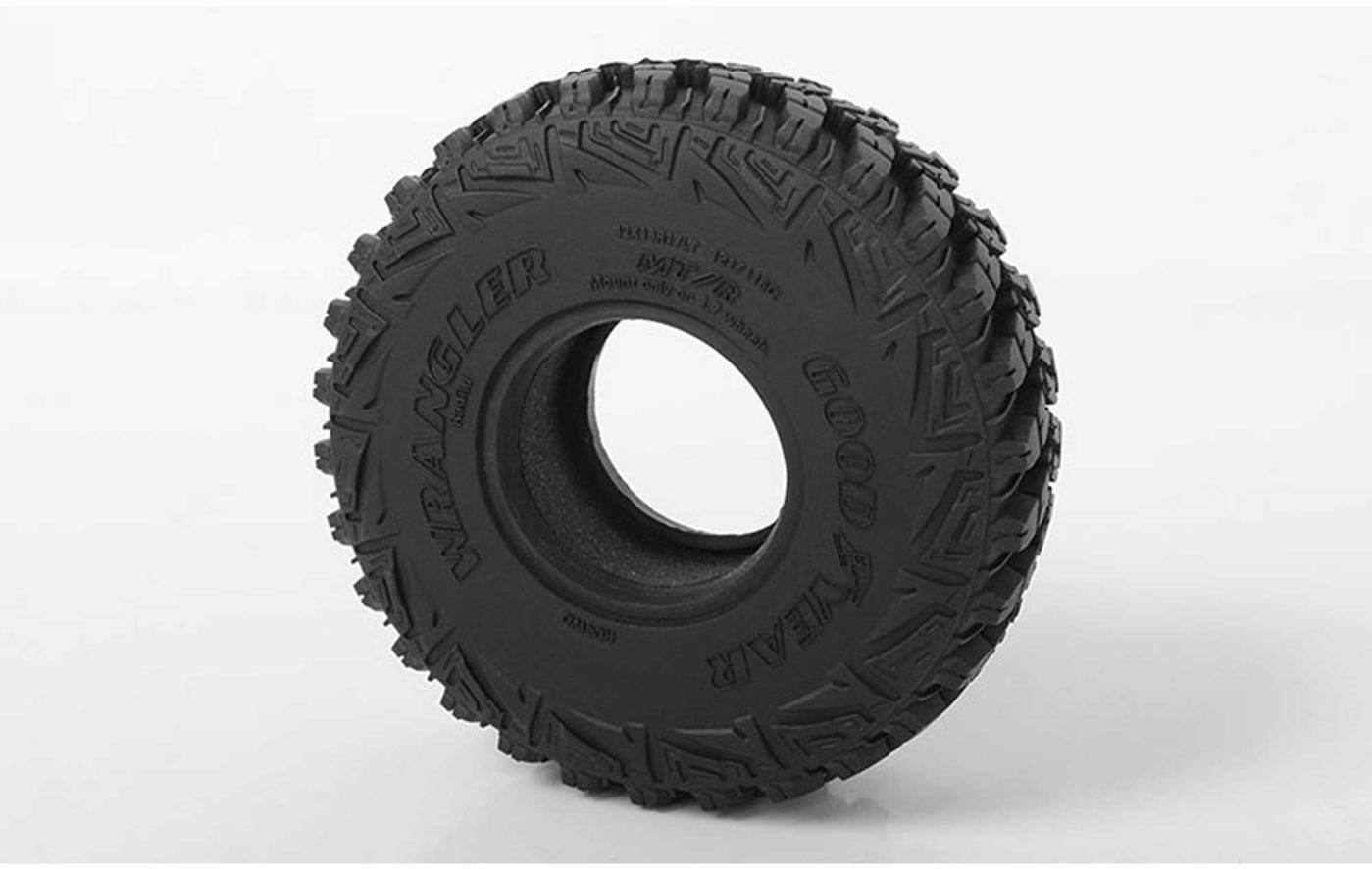 RC 4WD Goodyear Wrangler MT/R 1.7 Scale Tires