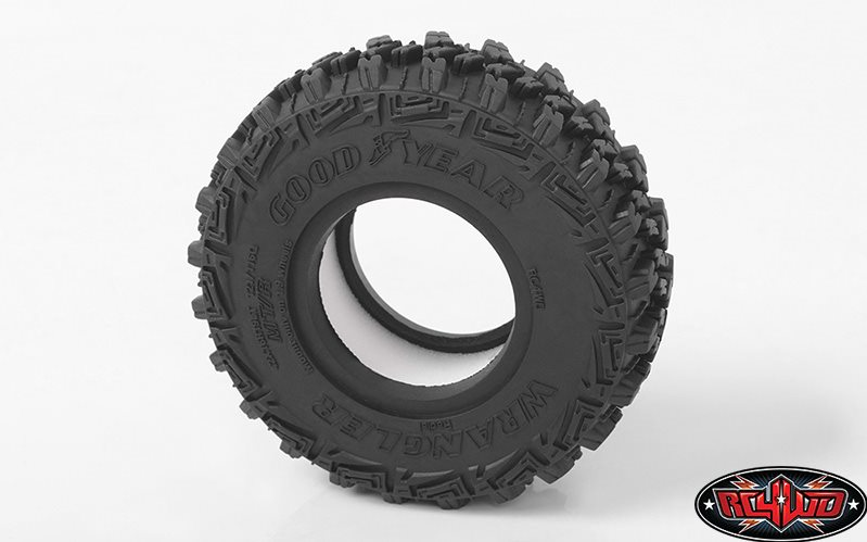 "RC 4WD Goodyear Wrangler Mt/R 1.9"" 4.19\"" Scale Tires"