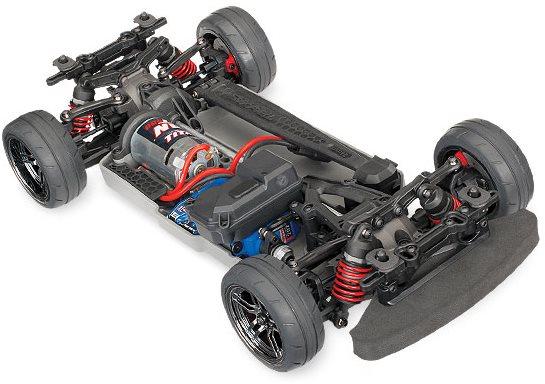 Traxxas 4-TEC 2.0: 1/10 SCALE AWD