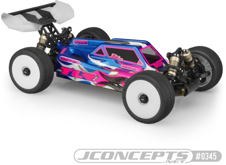 J Concepts S2 TLR 8ight 4.0 Body Clear
