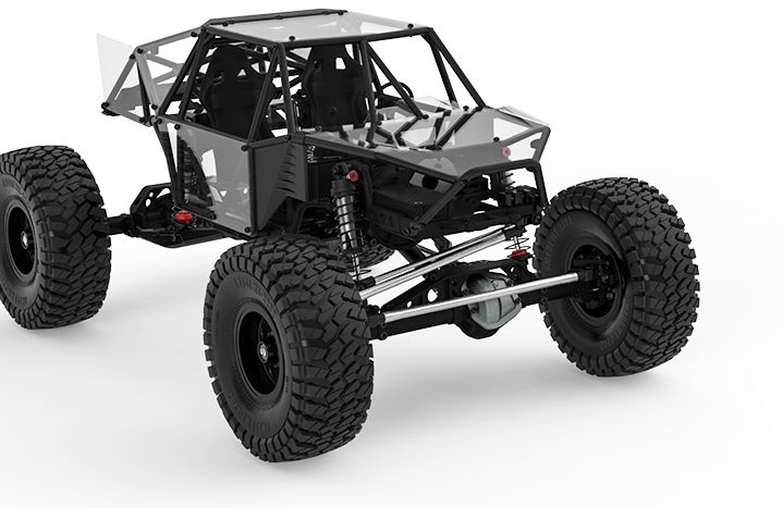 Gmade Gom Rock Crawler Buggy Kit, 1/10 Scale, W/ A Gr01 Chassis, And 4