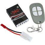 RC 4WD 4 Channel Wireless Remote Light Controller