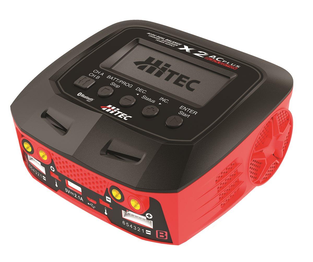 Hitec X2 Ac Plus Black Edition AC/DC Balance Charger