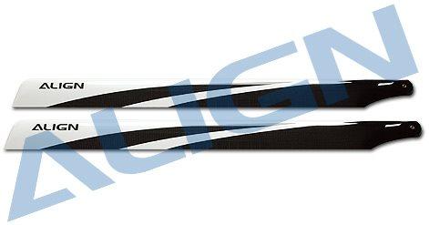 Align 800 Carbon Fiber Blades