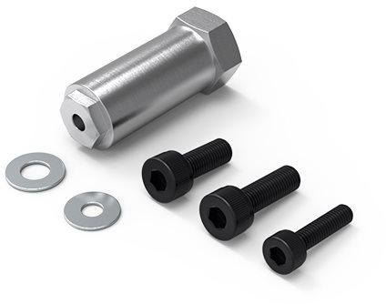 Gmade Aluminum Spare Tire Mount: Gom