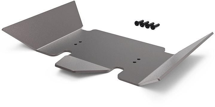Gmade Gr01 Aluminum Skid Plate (Titanium Gray): Gom