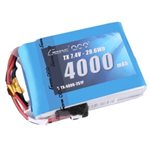 Gens Ace 4000mAh 7.4V 2S1P TX Lipo Battery Pack with JST-EHR plug