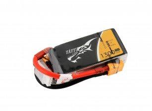Gens Ace Tattu 1300mAh 3S 75C lipo battery pack with XT60 plug