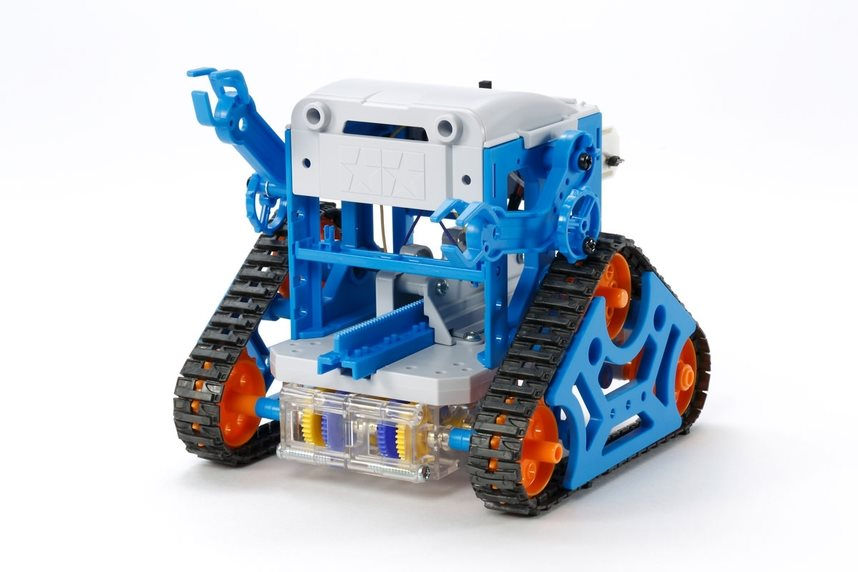 Tamiya Cam-Program Robot, Blue