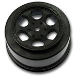 Black Trinidad Sc Wheels For The Associated Sc5m, Sc10, And The