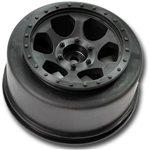 Black Trinidad Sc Front Wheel For The Traxxas Slash (4Pcs)