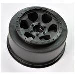 Black Trinidad Sc Wheel For The Traxxas Slash Rear, Slash 4X4, A