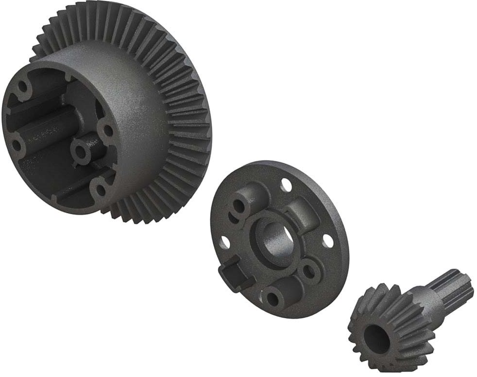 ARRMA Diff Case, 49T Main Gear/17T Input Gear Set