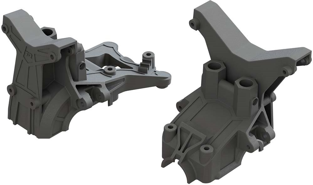 ARRMA F/R Composite Upper Gearbox Covers/Shock Tower