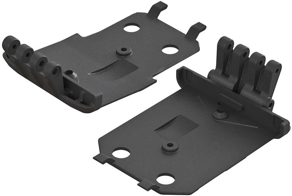 ARRMA F/R Lower Skid Plate 4x4 Granite MEGA (2)