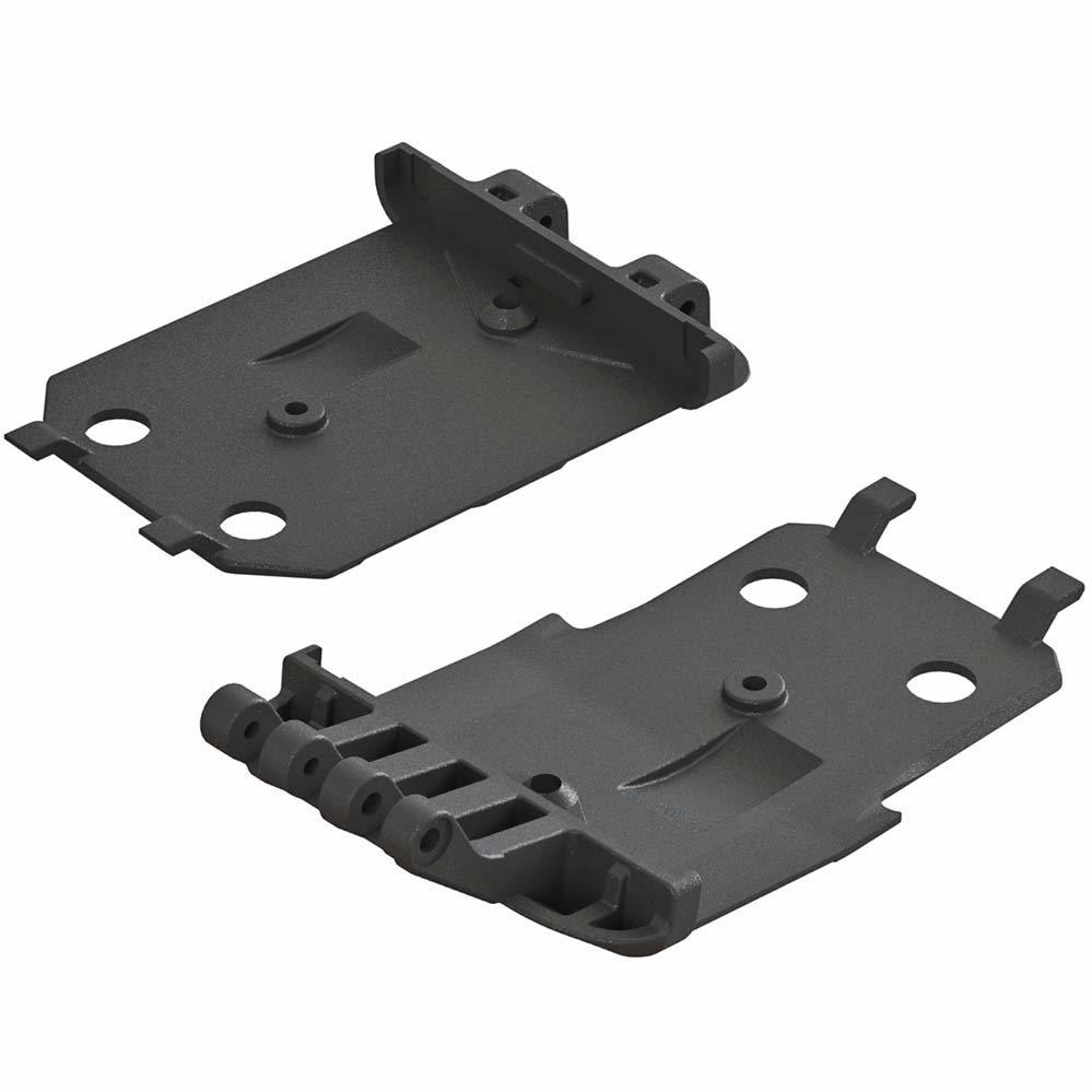 ARRMA F/R Lower Skid Plate 4x4 Senton Mega (2)