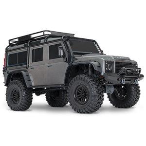 Traxxas TRX-4 Crawler W/ Xl5 Hv - Silver