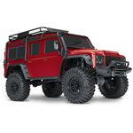 Traxxas TRX-4 Crawler with Land Rover Defender Body - RED