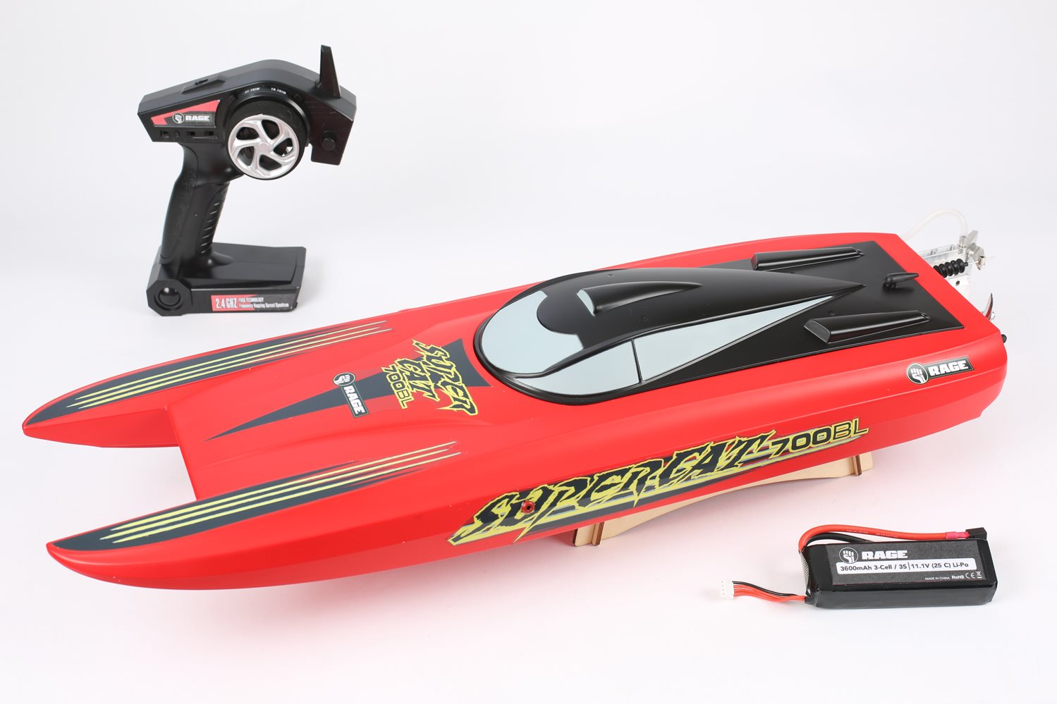 Rage RC Super Cat 700Bl Brushless Rtr Catamaran Boat