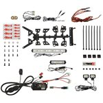MyTrickRC Attack Off-Road 1252 Light Bar Kit- 1-Dg-1 Controller, 2-Light B