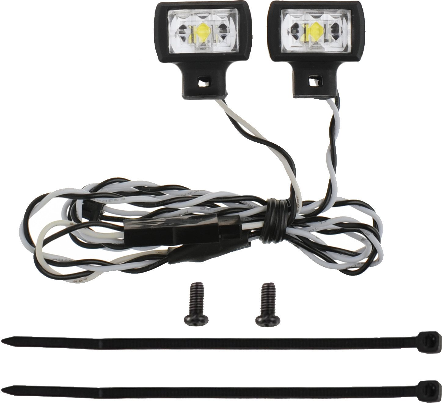 MyTrickRC Spotlights High Power - 2-High Power Spotlights With Mounting Br