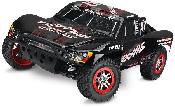 Traxxas Mik Slash 4X4 S.C Truck Rtr, 1/10 Scale, W/ Tsm, And Vlx Brushle