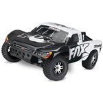 Traxxas Fox Slash 4X4 S.C Truck Rtr, 1/10 Scale, W/ Tsm, And Vlx Brushle