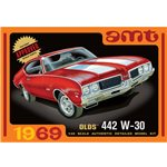 AMT 1105/12 1/25 1969 Olds W-30 442