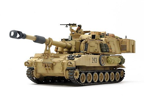 Tamiya 1/35 US Self-Propelled Howitzer M109A6 Paladin