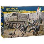 1/35 Steyr RSO/01 w/German Soldiers/Accys