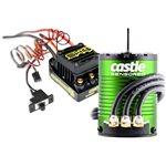 Castle Creations Sidewinder 4 Waterproof Sensorless Esc, W/ 1406-6900Kv Sensored