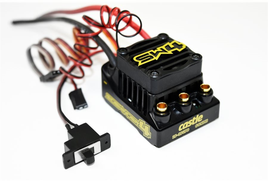 Castle Creations Sidewinder 4 Waterproof Sensorless Esc
