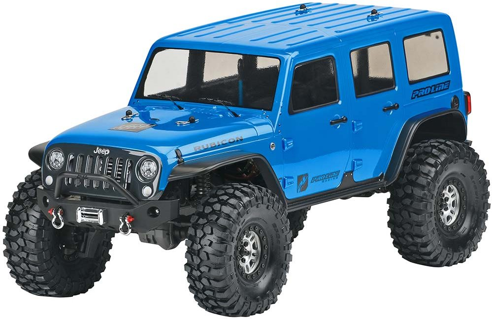 Proline Jeep Wrangler Unlimited Rubicon Clear Body TRX-