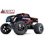 Stampede Vxl Monster Truck, Rtr, 1/10 Scale, Brushless