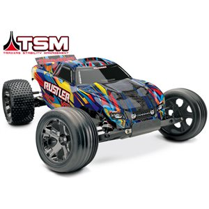 Traxxas Rustler VXL RTR W/TSM (No Battery Or Charger)