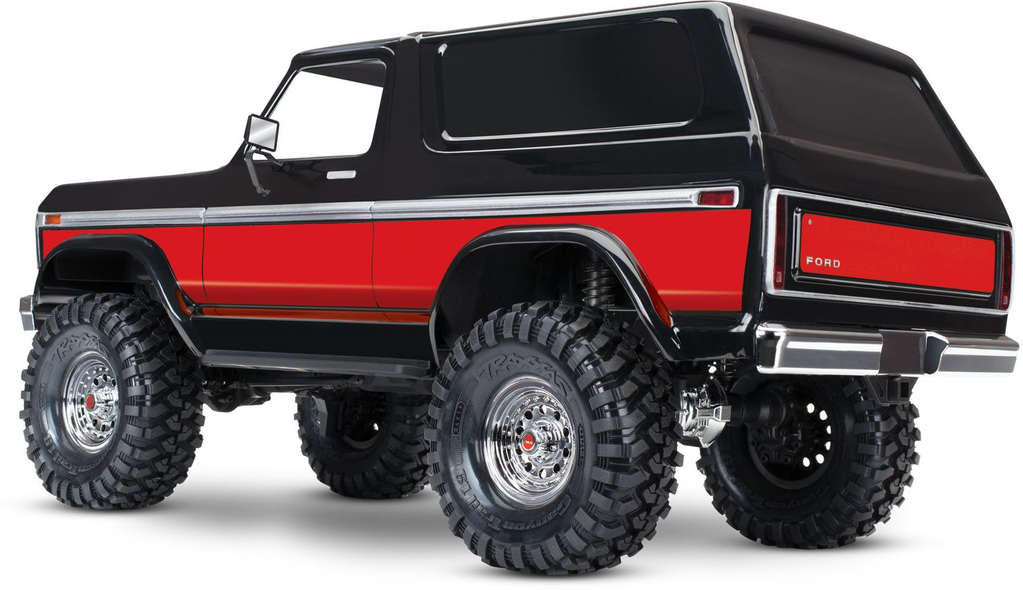 traxxas trx4 ford bronco red traxxas 82046 4 red. Black Bedroom Furniture Sets. Home Design Ideas