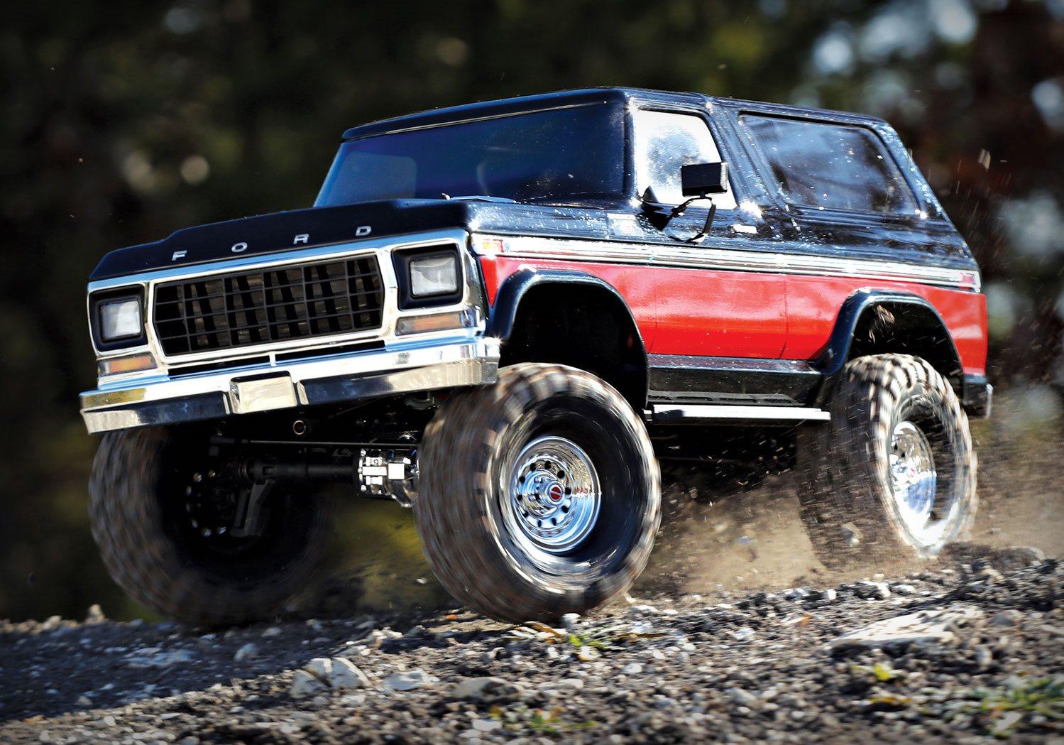 Traxxas TRX4 Ford Bronco Red (Traxxas 82046-4-RED ...
