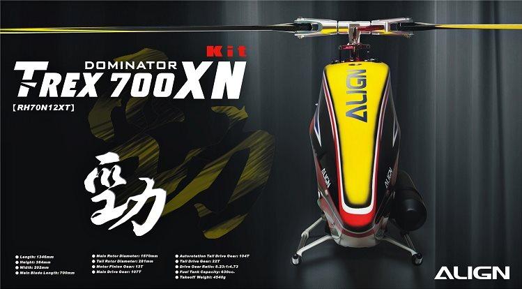 Align T-Rex 700XN Dominator Nitro KIT