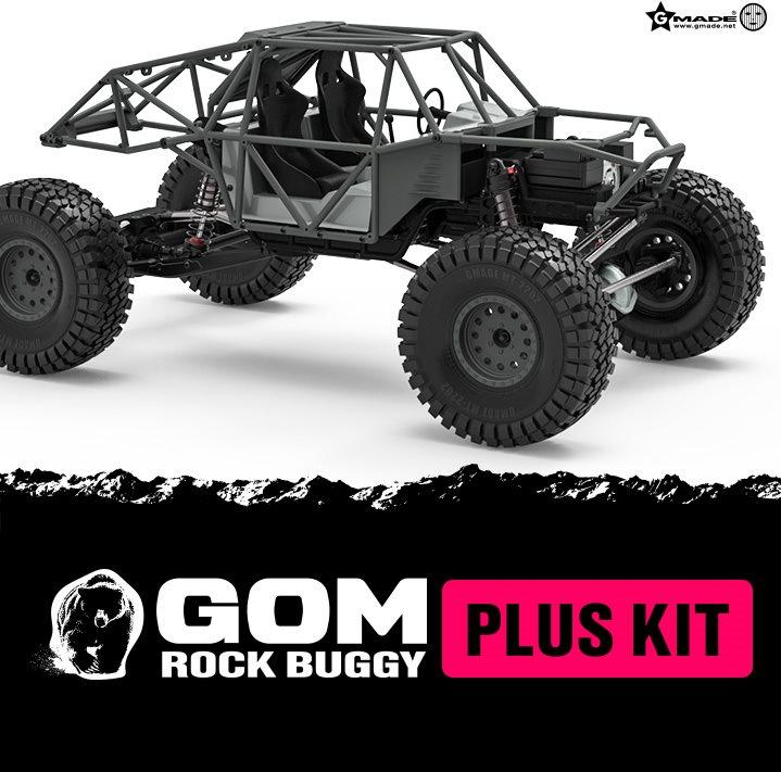 Gmade 1/10 Gr01 Gom Rock Buggy Plus Kit