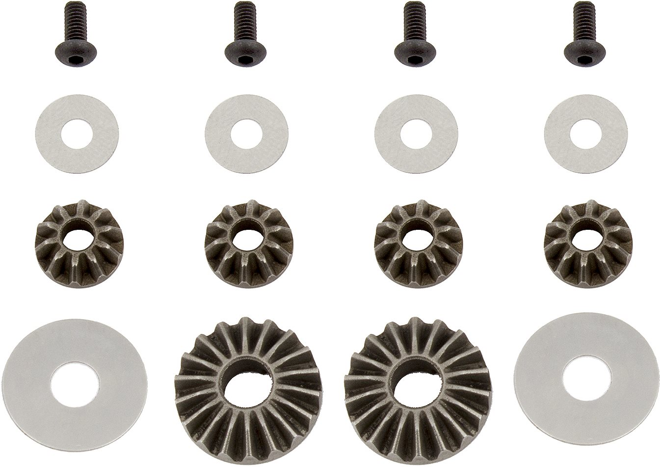Associated Gear Differential Rebuild Kit, For B6.1