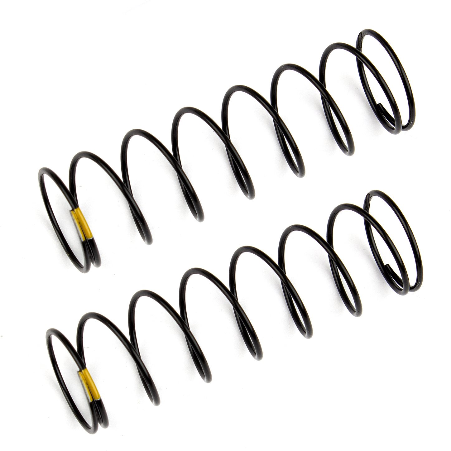 Associated Rear Shock Springs, Yellow, 2.30 Lb/In, For B6.1 (61Mm)