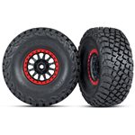 Traxxas TIRES AND WHEELS, ASSEMBL