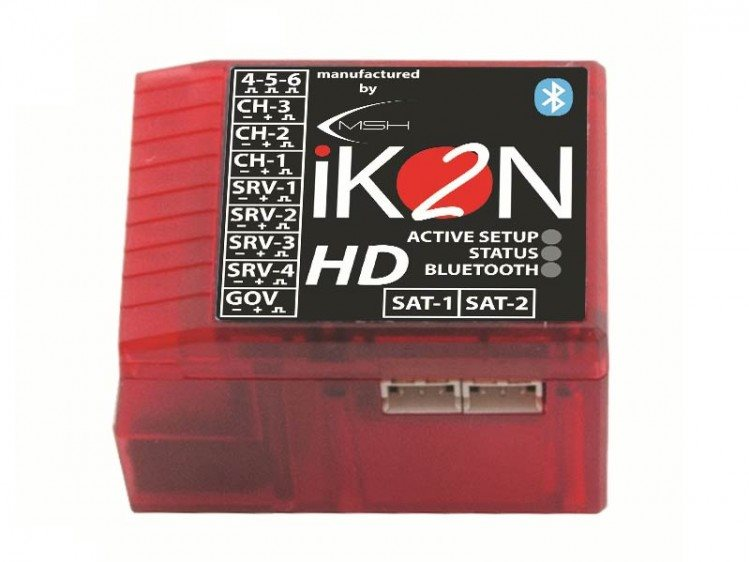 iKON iKON2 HD Flybarless System with Integrated Bluetooth Module - Mi