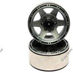 Boom Racing EVOT 1.9 High Mass Beadlock Aluminum Wheels Star-6 (2)