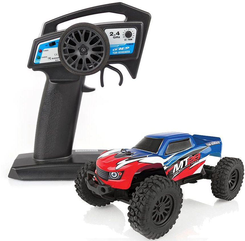 Associated Mt28 Monster Truck Rtr, 1/28 Scale, 2Wd