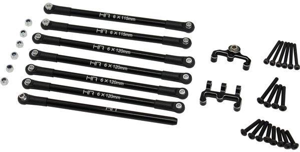 Hot Racing Aluminum 4 Link Conversion Set W/ Mount, For Hpi Fj