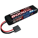 5000Mah 7.4V 2-Cell 25C Lipo Battery (Short)